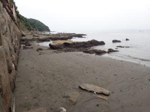 江ノ島 砂浜