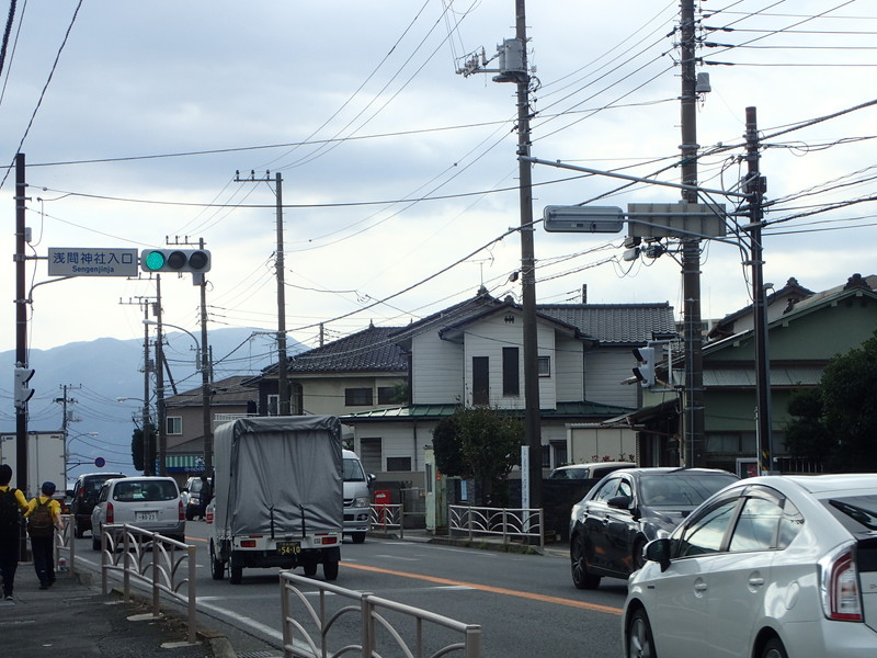 箱根駅伝4区:10KM付近