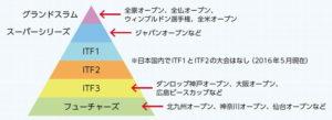 車いすテニスピラミッド