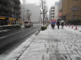 新横浜大雪