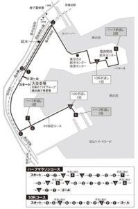 神奈川マラソンコース