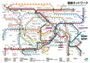 JR東日本路線ネットワーク