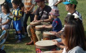 太鼓であそぼうドラムサークル