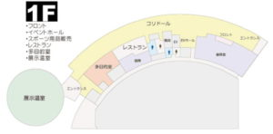 ふれーゆ1F平面図