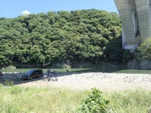 小倉橋 バーベキューポイント