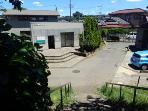 相模川 高田橋 川のトイレ 段差