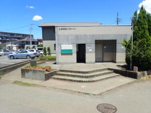 相模川 高田橋 川のトイレ(住宅地側)