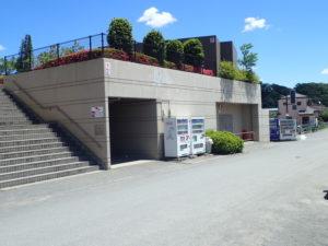 相模川 高田橋 川のトイレ(下流側)
