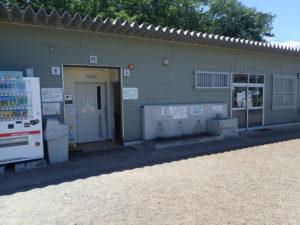 厚木野球場・テニスコート管理事務所 トイレ