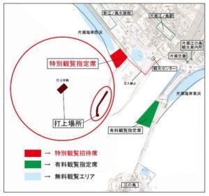 江ノ島打ち上げ花火場所