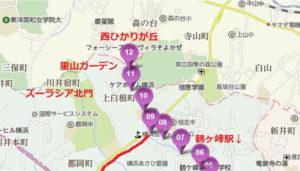 鶴ヶ峰駅~ひかりが丘 バスルート