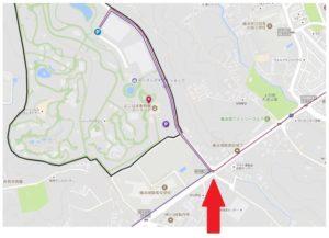 中原街道 動物園入口交差点