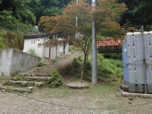 大山寺 仮設トイレ