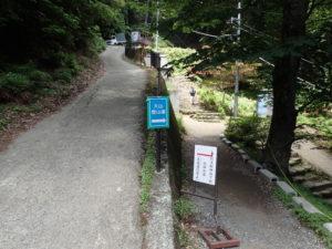 大山寺 登山道