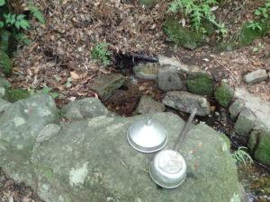 大山 弘法の水
