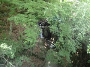 大山 茶湯寺 橋