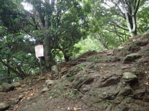 丹沢 大山 14丁目 ぼたん岩