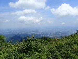 丹沢 大山 山頂 風景