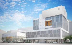 長野市役所 第一庁舎と芸術館