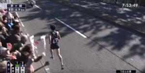 箱根駅伝8区 茅ヶ崎固定カメラ4