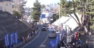 箱根駅伝7区 二宮 固定カメラ