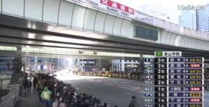 箱園駅伝10区 日本橋 固定カメラ