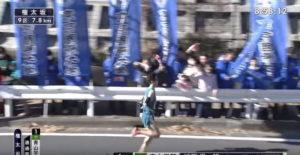箱根駅伝9区 権太坂 固定カメラ5