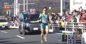 箱根駅伝8区 平塚中継所出発3