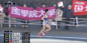 箱根駅伝4区 9.1KM固定カメラ3