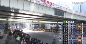 箱根駅伝10区 日本橋 固定カメラ3