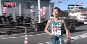 箱根駅伝7区 平塚中継所5