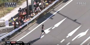 箱根駅伝4区 小田原本町 固定カメラ5