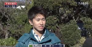 箱根駅伝8区 7区区間賞インタビュー