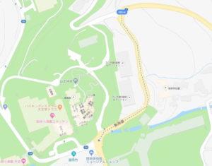 箱根駅伝5区 小枠園 手前 距離