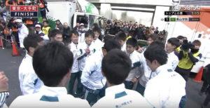 箱根駅伝 胴上げシーン5