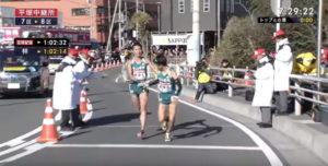 箱根駅伝7区 平塚中継所4