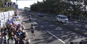箱根駅伝8区 茅ヶ崎固定カメラ5