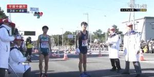 箱根駅伝3区 平塚中継所2