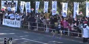 箱根駅伝3区 茅ヶ崎固定カメラ3