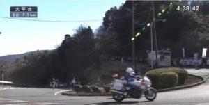 箱根駅伝5区 大平台 固定カメラ