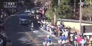 箱根駅伝5区 小涌園前固定カメラ3