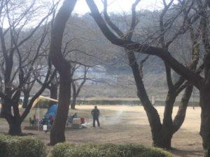 上大島キャンプ場 冬