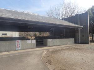 上大島キャンプ場 炊事場