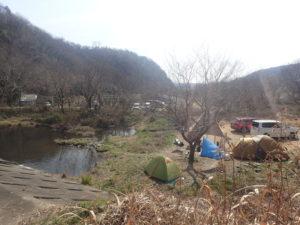 上大島キャンプ場 バードウォッチング