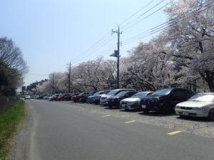 上大島キャンプ場 第2駐車場