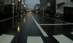 台風散乱物:自転車