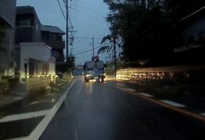 台風散乱物:倒木2