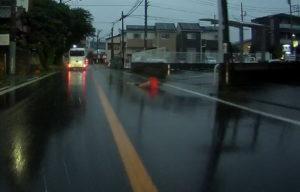 台風散乱物:カラーコーン3