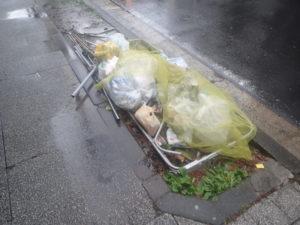 ゴミ:台風19号