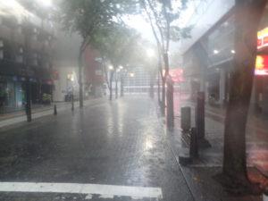 横浜アリーナ:台風19号